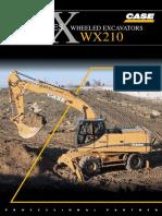 Case WX 210 Brochure
