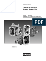 Chelsea 252 Series 6 Bolt Powershift PTO Service Manual