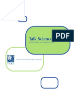 Talk Science First -Sarah Michaels and Cathy O'Connor