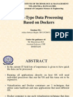 Dockers Seminar - B13 Aditya