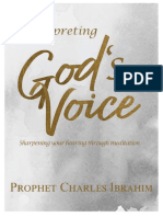 Interpreting God's Voice Prophet C. Ibrahim
