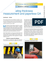 Pc Thickness Measurement