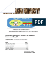 Handbook of Reliabilty Maintainability