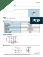 Datasheet de Motor de Paso M35SP