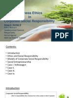 CSR in Business Ethics