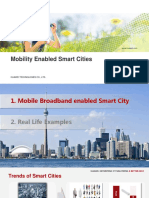 Huawei Mobility for Smart Cities 20130622