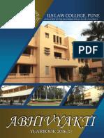 Abhivyakti Yearbook 2016-17-1
