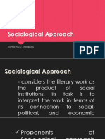 Sociological Approach Ppt