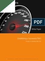 White Paper Establishing a Successful PMO 2014