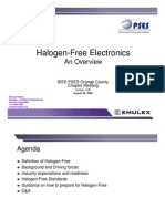 Halogen Free Electronics - Flinders OC Meeting Rev A
