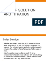 Buffer Solution and TITraTION-1