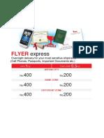 16 Flyer Express