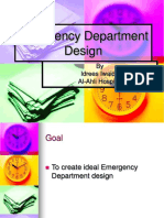 Emergency Department Design by idrees.ppt