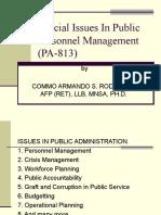 Pa 813 Public Pers Management