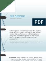 Set Designs