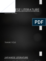 Introduction to Japanese Literature