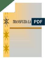 Curs Transfuzii