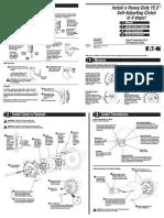 Clutch Service Manual