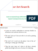 Prior Art Search or Secondary Research