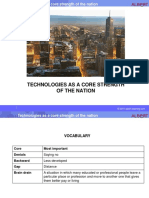 Technologies As A Core Strength Of The Nation.pptx
