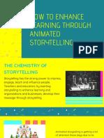 How to Enhance Learning Through Animated Storytelling