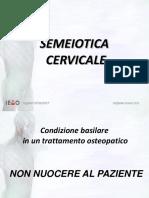 semeiotica cervicale