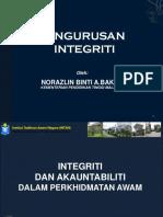 Integriti- Isu Integriti Dan Akuantibiliti