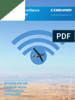 Aviator Uav 200 Satcom Brochure