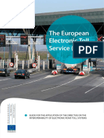 European Electronic Toll Service