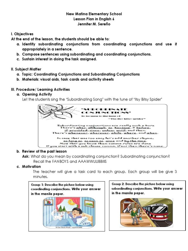 ENGLISH 6 FINAL docx | Linguistics | Grammar