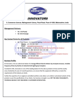 INNOVATORS- Company Profile
