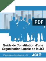 JCI Local Organization Constitution Guide FRE-2013-01