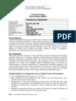 Course Outline (Principlal Marketing EMBA.szabIST Uni
