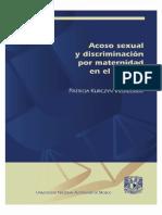 Acoso Sexual y Discriminacion por maternidad en el trabajo - Kurczyn Villalobos, Patricia