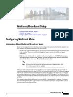 Multicast Broadcast Setup