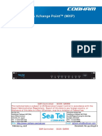 SeaTel MXP User Manual