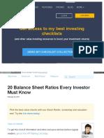 Www Oldschoolvalue Com Blog Valuation Methods Balance Sheet