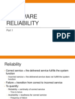 Software Reliability1