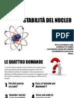 Stabilità Del Nucleo Atomico