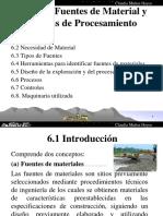 Tema 6. Fuentes de Material