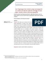 Faktor Lingkungan Dan Malaria