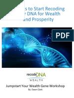 Guide- Jumpstart Your Wealth Gene Workshop 1