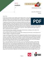 claudes letter transcribed