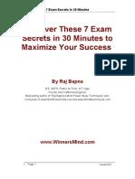 7 Exam Secrets in 30Minutes