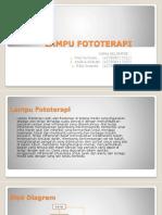 PPT Lampu Fototerapi