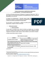 Criterios Generales actualizados - Programa Nacional de Delegación de Competencias Diferenciadas 2