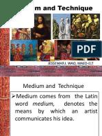 Medium and Technique.ppt