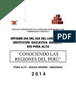 Proyecto Dia de Logro - Pona Alta 3 Años