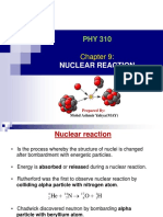 CHAP 9 NUCLEAR REACTION.ppt