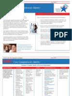 Core Competencies Matrix April 2007